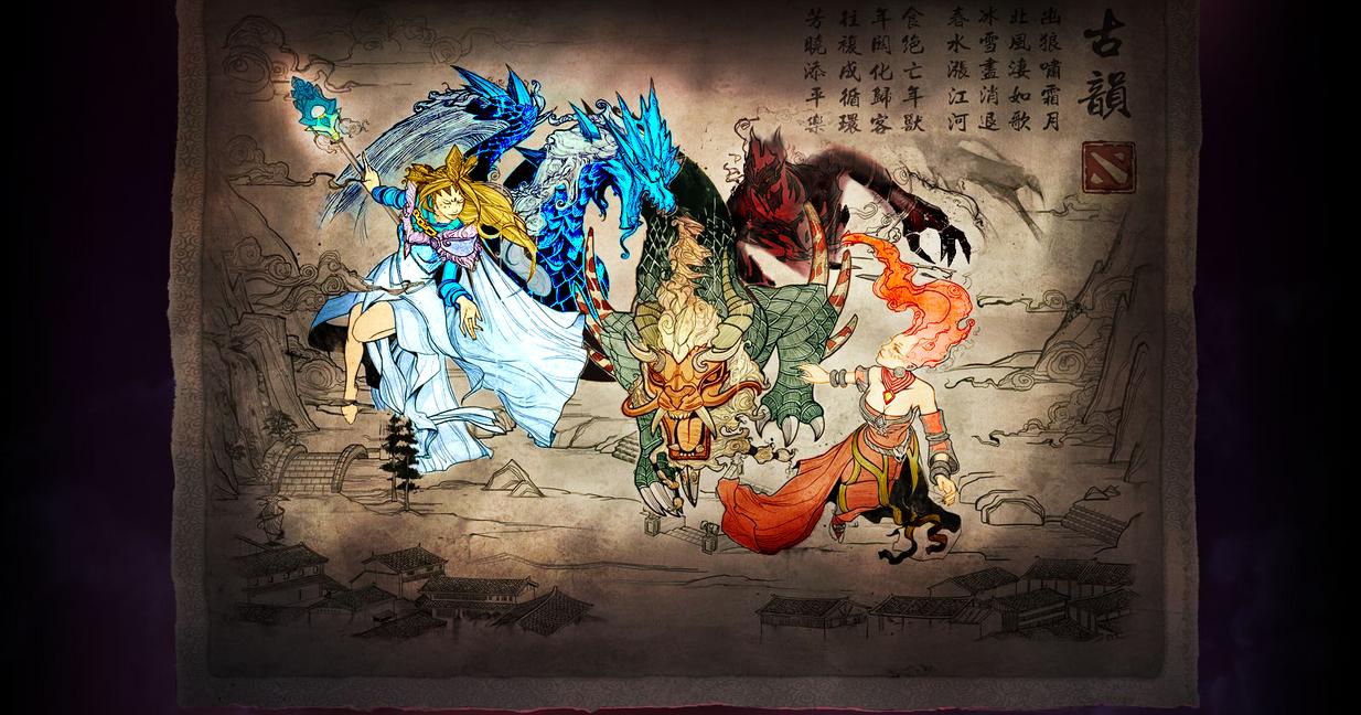 Dota2 - Year Beast Brawl #3(Color) by GODxXx