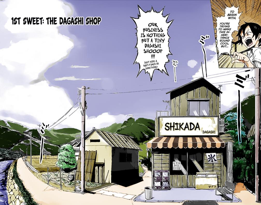 Dagashi Kashi - Ch1 / Pg 2 by GODxXx