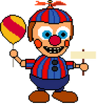 Balloon Boy plush (pixel art) by crazycreeper529