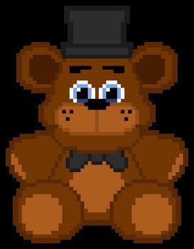 Freddy plush pixel art v1.1