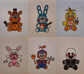 Toy Animatronic plushies redesigned