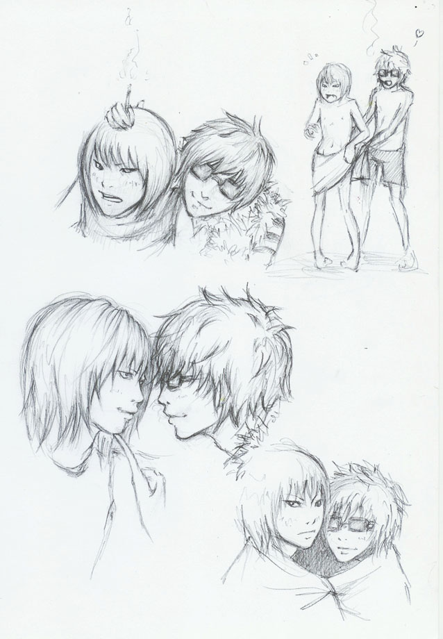 mello x matt by sushihase
