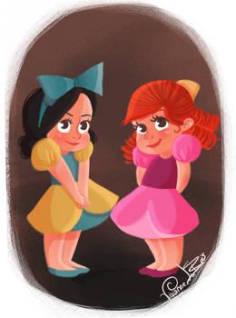 Little Villain Drizella and Anastasia