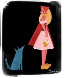 Little Red Riding Hood by Vijolea
