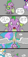 Spike Gets His Wings by TadpoleDude