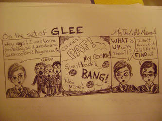 On the Set of Glee Episode 2 by MsTheLittleMermaid