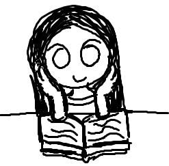 .:Me Reading a Book:. - Sketch by TwinkleToesAdopts