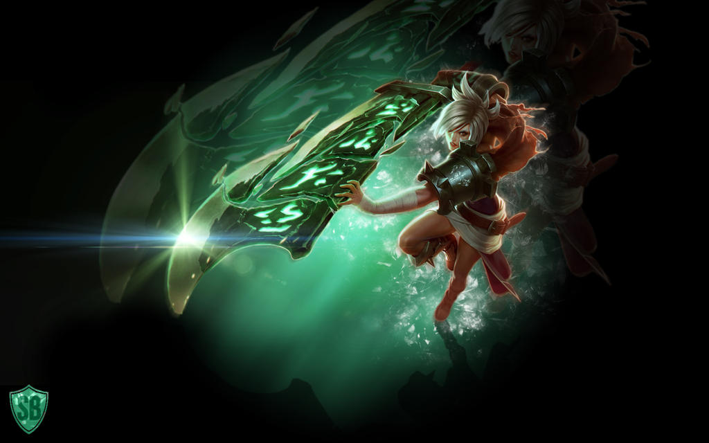 Riven Wallpaper - League of Legends by Sammylad298 on ...