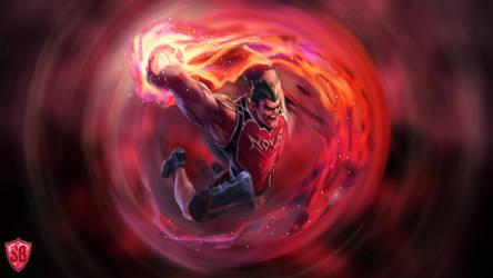 Dunkmaster Darius - League of Legends by Sammylad298