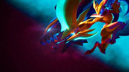 Super Galaxy Kindred Wallpaper