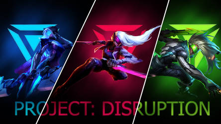 PROJECT: DISRUPTION Wallpaper - League of Legends