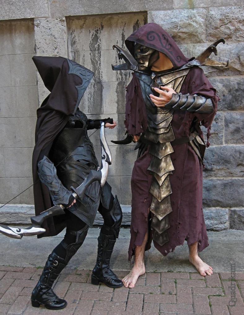 Dragon Priest and Nightingale (Skyrim) by Quadrikam on ...