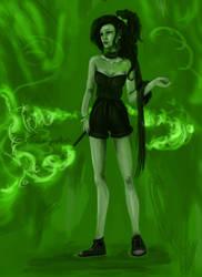 Witch. by MishamigosArt