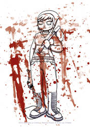 Red Ramona Riding Hood Alt version