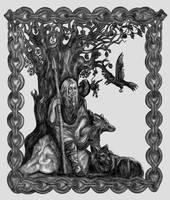 Norse Gods - Odin by fuzzy-head