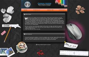 Osman Assem Website old style by osmanassem