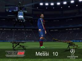 messi PES2009 by osmanassem
