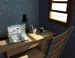 Study Room by osmanassem