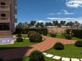 Landscape Loexzyana 2 by osmanassem