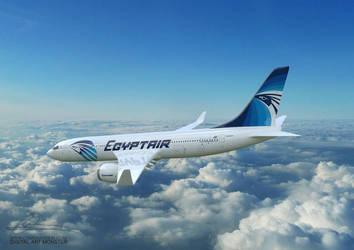 EgyptAir 3d Airplane 03 by osmanassem
