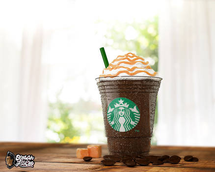 3D StarBucks Frappuccino Caramel