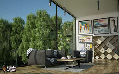 Container House - Living Room