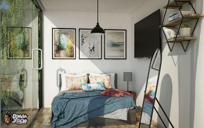 Container House - Bedroom