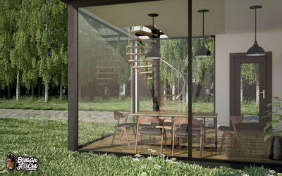 Container House - Dinning Room