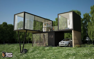 Container House - Main View