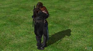 Hayate and Kasumi Hugging :)