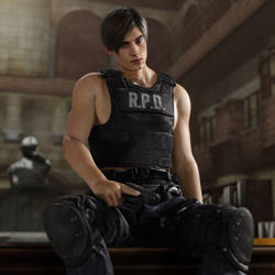 RE2:Remake Leon Pinup