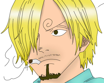 SANJI two years later by alliwanttedwasyou on DeviantArt