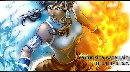 Avatar Korra by alliwanttedwasyou