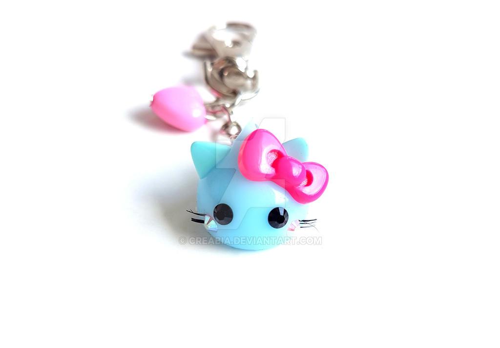 Kawaii Kitty Hoppe chan Squishy Keychain by CreaBia on DeviantArt