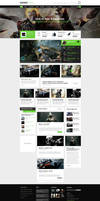 GamesZone Gaming WordPress Theme by DaJyDesigns