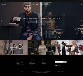 Avision - Elegant clothings store by DaJyDesigns
