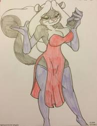 Sabrina as Jessica Rabbit