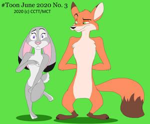 Toon June 2020 #3: Uncomfortable Fur Nude