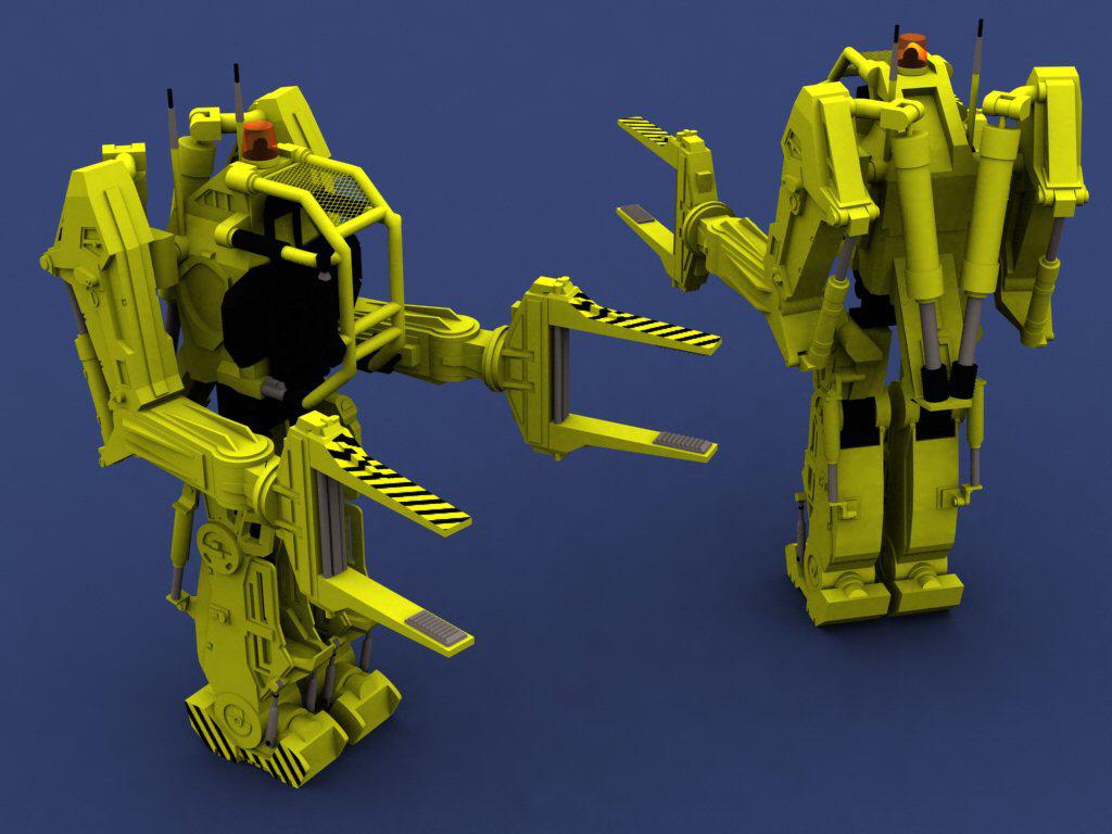 POWERLOADER 3D Studio Model by proteus6007 on DeviantArt