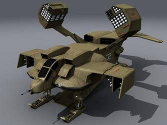 DROPSHIP 3D Studio Model by proteus6007