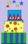 2015 Birthday Cake. by catdragon4