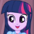 Princess Twilight Sparkle Good News Emoticon.