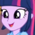 Twilight Sparkle It Looks Amazing Emoticon.