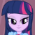 Princess Twilight Sparkle Flirty Emoticon.