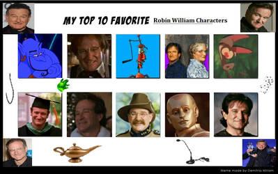 Happy Late Birthday Robin Williams!