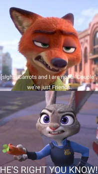 Nick And Judy Annoyed.