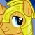 Castle Guard Flash Sentry In Love Emoticon.