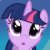 Twilight Sparkle Ooooooo Emoticon. by catdragon4