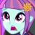 Sunny Flare Worried Emoticon.