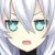 Noire Black Heart Annoyed Emoticon.